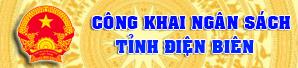 Công khai ngân sách tỉnh Điện Biên