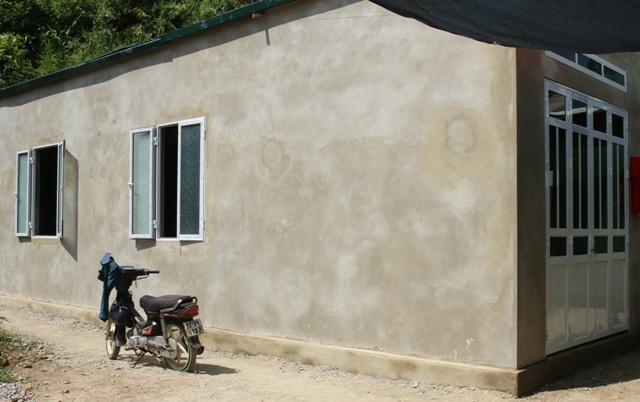 Ngôi nhà tình nghĩa do Kiển toán nhà nước Khu vực 7 tài trợ xây dựng
