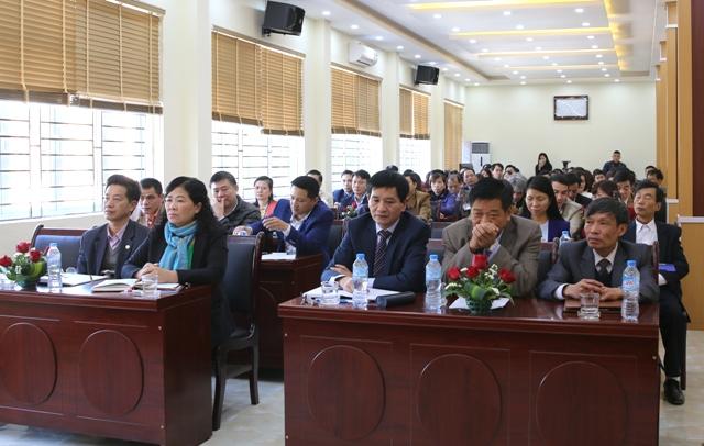 Quang cảnh Hội nghị tổng kết công tác tài chính - ngân sách năm 2017, triển khai nhiệm vụ tài chính - ngân sách năm 2018