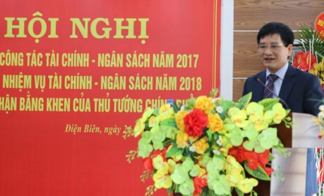 Đồng chí Lê Thành Đô, Ủy viên BTV Tỉnh ủy, Phó Chủ tịch Thường trực UBND tỉnh phát biểu chỉ đạo tại Hội nghị