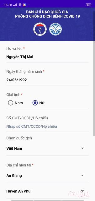 Description: Hướng dẫn tải và sử dụng ứng dụng NCOVI khai báo sức khỏe toàn dân - Ảnh 4.