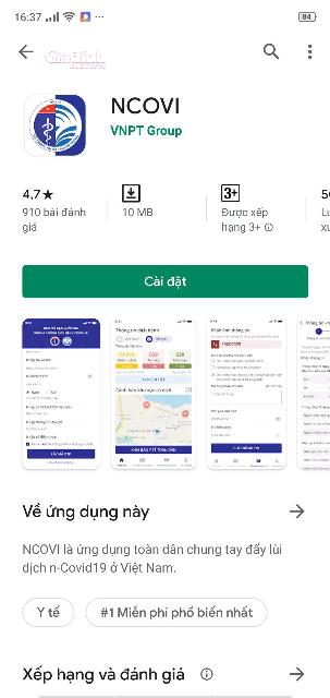 Description: Hướng dẫn tải và sử dụng ứng dụng NCOVI khai báo sức khỏe toàn dân - Ảnh 3.