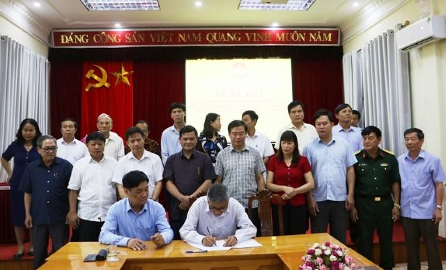 VPUB - Lễ Ký kết Quy chế phối hợp và thống nhất hành động giữa Ban Thường trực Ủy ban MTTQ Việt Nam tỉnh với các tổ chức thành viên, nhiệm kỳ 2019...