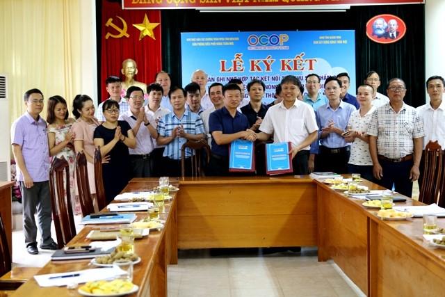 VPUB – Điện Biên và Quảng Ninh ký kết biên bản ghi nhớ hợp tác kết nối tiêu thụ sản phẩm OCOP