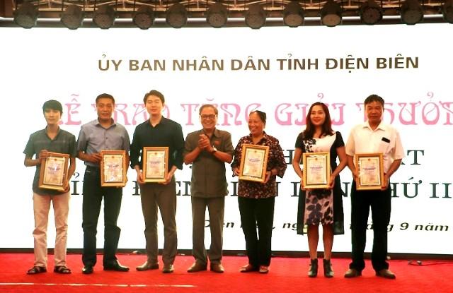 VPUB - 21 tác phẩm được trao Giải thưởng Văn học, Nghệ thuật tỉnh Điện Biên lần thứ III