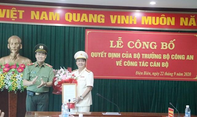 VPUB – Lễ công bố Quyết định bổ nhiệm Phó Giám đốc Công an tỉnh Điện Biên