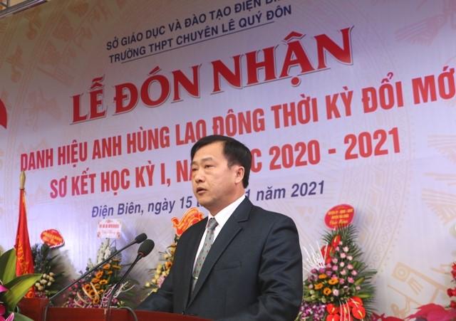 VPUB – Trường THPT chuyên Lê Quý Đôn đón nhận danh hiệu Anh hùng Lao động thời kỳ đổi mới