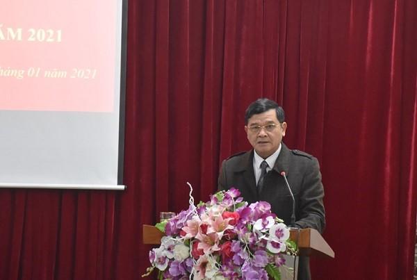 VPUB - Hội nghị triển khai công tác năm 2021 của Viện Kiểm sát nhân dân tỉnh Điện Biên