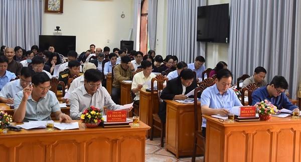 VPUB - Hội nghị hiệp thương lần thứ hai để thỏa thuận lập danh sách sơ bộ những người ứng cử đại biểu Quốc hội khóa XV và đại biểu HĐND tỉnh nhiệm...