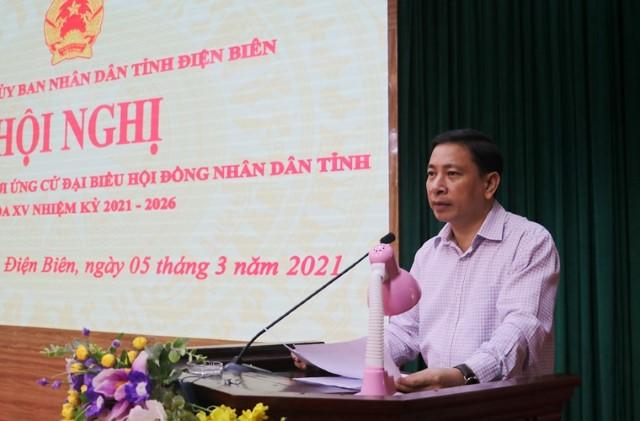 VPUB - Hội nghị cử tri giới thiệu người ứng cử đại biểu HĐND tỉnh khóa XV, nhiệm kỳ 2021 - 2026