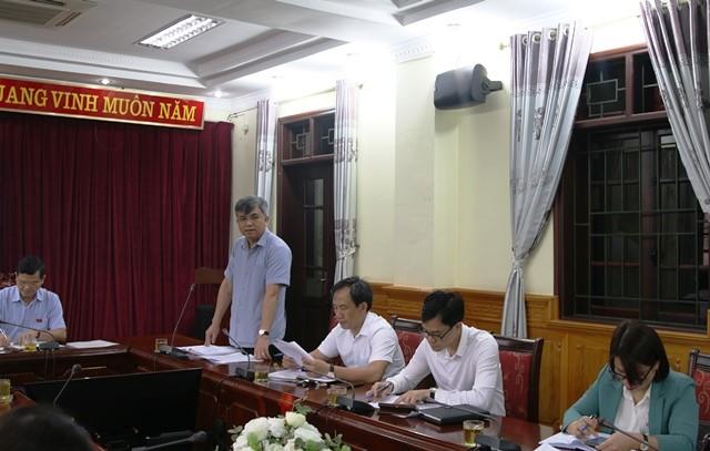 VPUB - Đoàn giám sát HĐND tỉnh làm việc với UBND tỉnh về Chương trình xây dựng nông thôn mới