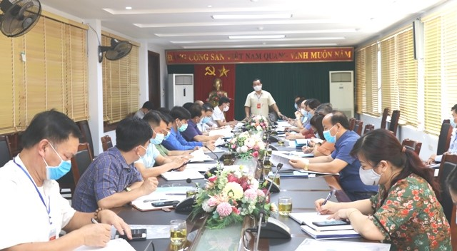 VPUB – Họp Ban chỉ đạo cấp tỉnh kỳ thi tốt nghiệp THPT năm 2021
