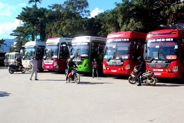 VPUB - Điện Biên dừng toàn bộ hoạt động vận tải hành khách công cộng liên tỉnh (trừ thành phố Hà Nội) từ 00 giờ 00'...