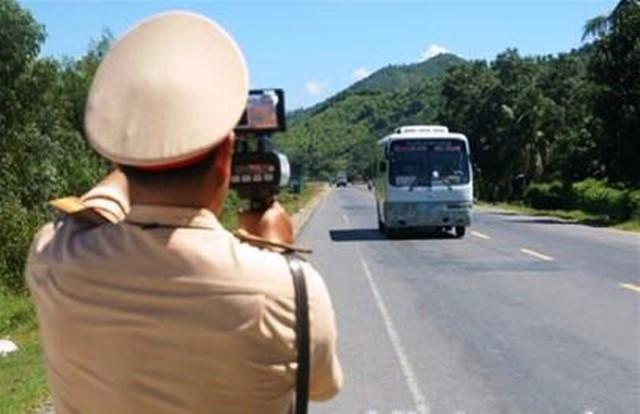 VPUB – Điện Biên nhắc nhở, chấn chỉnh đối với 19 phương tiện 5 lần vi phạm tốc độ