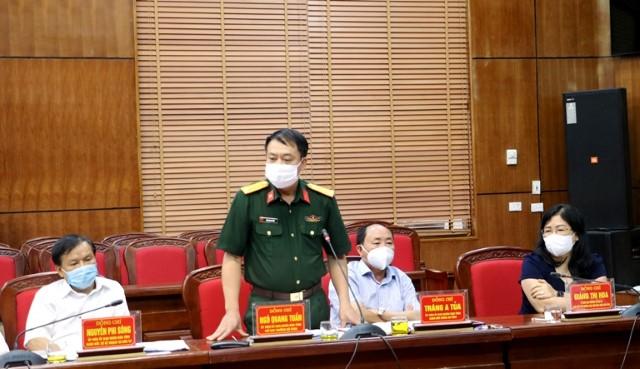 VPUB - Xem xét nội dung Đề án tổ chức lực lượng, huấn luyện, hoạt động và bảo đảm chế độ, chính sách cho Dân quân tự vệ tỉnh