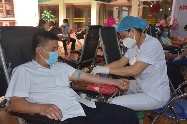 VPUB – Ngày Hội hiến máu năm 2021
