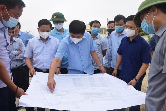 VPUB – Chủ tịch UBND tỉnh Lê Thành Đô kiểm tra một số dự án trọng điểm trên địa bàn thành phố Điện Biên Phủ