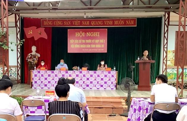 VPUB - Phó Bí thư Thường trực Tỉnh ủy Mùa A Sơn, tiếp xúc cử tri tại xã Hua Thanh, huyện Điện Biên