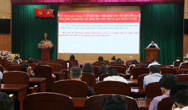 VPUB - Hội nghị học tập, quán triệt Nghị quyết Đại hội đại biểu toàn quốc lần thứ XIII của Đảng
