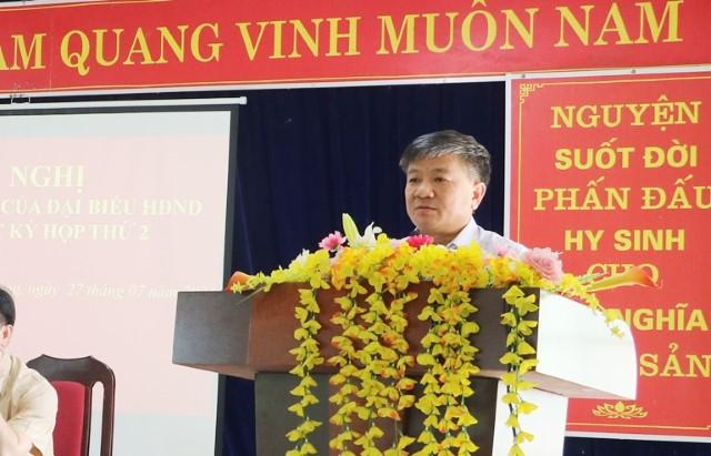 VPUB - Chủ tịch HĐND tỉnh Lò Văn Phương tiếp xúc cử tri trước kỳ họp thứ 2 HĐND tỉnh khóa XV, nhiệm kỳ 2021 - 2026