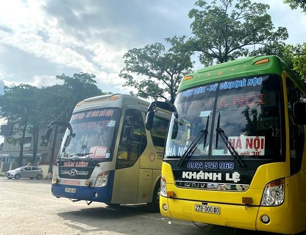 VPUB - Điện Biên phân luồng giao thông (luồng xanh) tại các tuyến nội tỉnh kết nối với hệ thống luồng xanh quốc gia