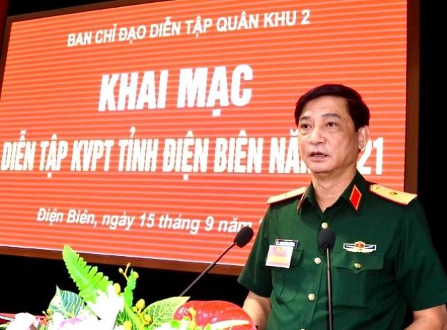 VPUB - Khai mạc diễn tập khu vực phòng thủ tỉnh Điện Biên năm 2021