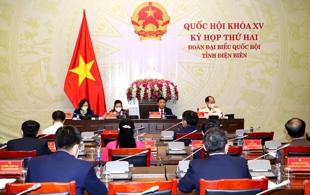 VPUB - Đoàn ĐBQH tỉnh Điện Biên tham dự Kỳ họp thứ 2, Quốc hội khóa XV