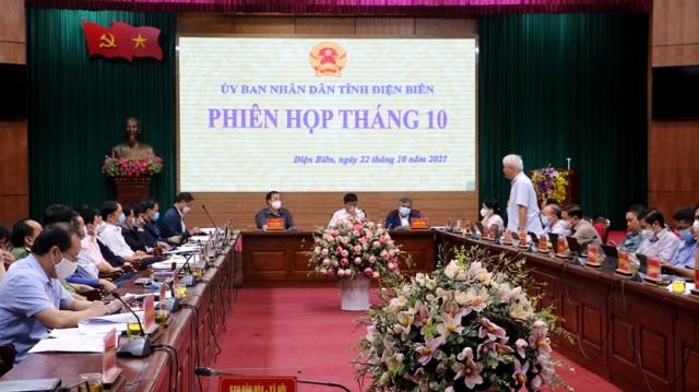 VPUB - Thảo luận, cho ý kiến vào Đề án bảo tồn phát triển văn hoá các dân tộc tỉnh Điện Biên, gắn với phát triển kinh tế - xã hội giai đoạn 2021 - 2025, định hướng đến năm 2030