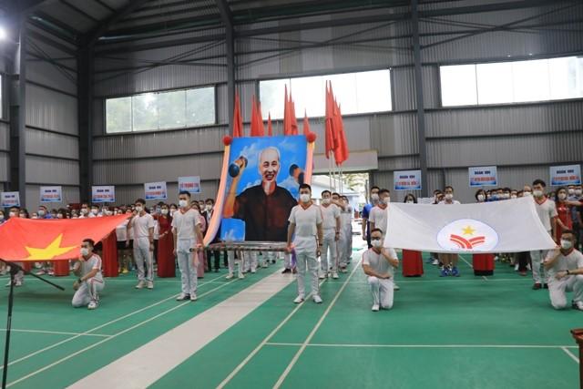 VPUB – Khai mạc đại hội thể thao ngành Thuế tỉnh lần thứ VI